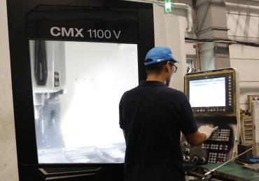 産業機械部品の製作・組立