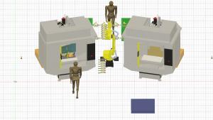 立形マシニングセンター(30番) 新規自動化ライン(月産10000個)